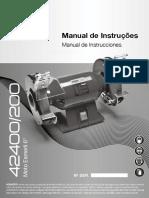 Manual Motoesmeril