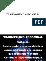 Tramatismo Abdominal