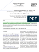 2007_Manohar Singh Et Al_Performance Impact of Business Group Affiliation an Analysis of the Dive
