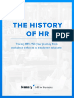 The History of Hr