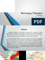 Barangay Talipapa