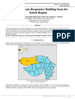 Study of Climate Responsive Building Form for Kutch Region