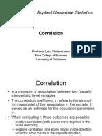 Correlation-1