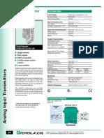 Pepperl KFD2 STC4 EX1.20 Datasheet