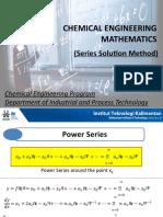 5. Matekk (Series Solution Method)