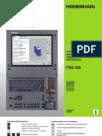 Heidenhain - Instrukcja Obsługi Dla operatora - dialog tekstem otwartym