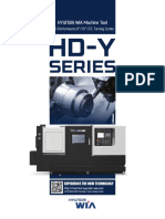 Hyundai Wia Y axis Turnmill HD Series