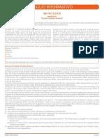 CCA Foglio Informativo