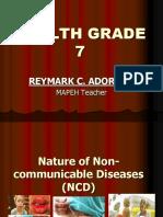 Non-communicable Disease Demo