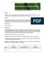 P CAL 03 Procedimiento Auditorias Internas V3