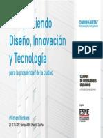 17 | Compartiendo diseño, innovacion y tecnologia para la prosperidad de la ciudad. | Spain