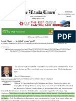 Legal Planet — a Global 'Green' Pact_ _ the Manila Times Online