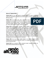 Propuesta Para SPONSORS_Talento FM_v2019