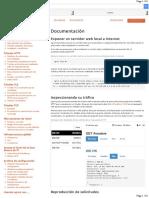 Ngrok Documentacion Traducido