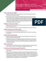 Primary Secondary Prevention Caridovascular