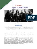 Comunicado Kalfu en Womad 2019 (1)