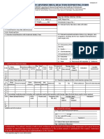 ADR Reporting Form