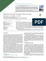 Calificacion de techo en minas de carbon