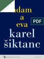 Karel Šiktanc - Adam a Eva (2018)(CZ)
