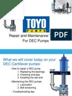 Dec Pump Assembly Cross Sectional Drawing e Agitator d7868