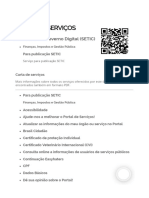 Secretaria de Governo Digital - SETIC - GovBr