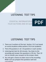 LISTENING  TEST TIPS  1.pptx
