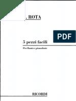 5-Pezzi-Facili Per Flauto e Piano