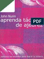 Tcticas de Ajedrez - John Nunn