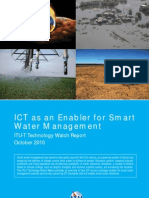 ICT as an Enabler for Smart Water Management