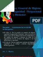 Ley General de Higiene, Seguridad Ocupacional y Bienestar Nº 16998 - libro I