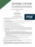Rozporządzenie Ministra Finansów z Dnia 21 Grudnia 2018 r.