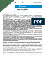 Decreto 259/2019
