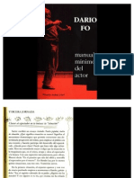 """La  """"situación""""  según Dario Fo """"(manual mínimo del actor"""")"""