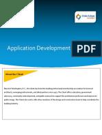 Case Study Applciation Development