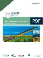 K35 Pipeline Route Plans