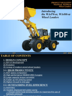 KOMATSU WA470-6R Wheel Loader Introduction