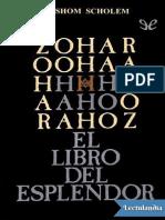Zohar El libro del esplendor - Moises de Leon.pdf