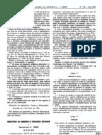 Estabelecimentos Alimentares - Legislacao Portuguesa - 1990/04 - DL nº 138 - QUALI.PT