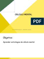 Cálculo Mental de 0 a 10 - MATEMÁTICA