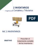 02 NIC 2 INVENTARIOS Aspectos Contables y Tributarios