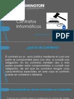 presentacion contratos informaticos