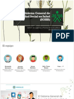 Sistema General de Seguridad Social en Salud (