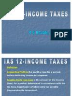 Ias 12-Income Taxes