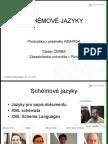 Počítačová kartografie - Schémové jazyky