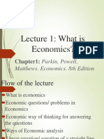 Eco 101 Lec 1 Chapter 1 SBY