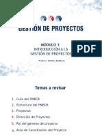Gestión de Proyectos - Módulo 1