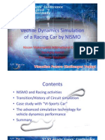 NISMO - Vehicle Dynamics Simulation of a Racing Car