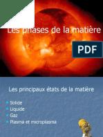 Les Phases de La Mati%E8re