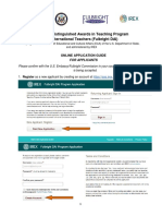 IREX Fulbright DAI Online Application System Applicant Guide