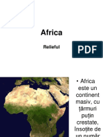 Africa Relieful